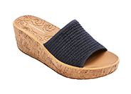 WEEKEND CASUALS LANEA WOVEN SLIDE