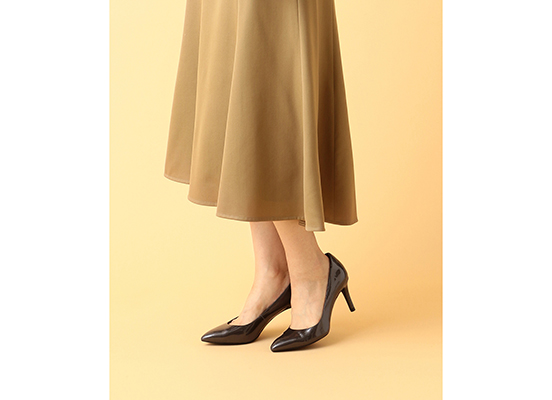 TOTAL MOTION 75mm POINTY TOE HEEL PLAIN PUMP 詳細画像 オニキス パール パテント 13