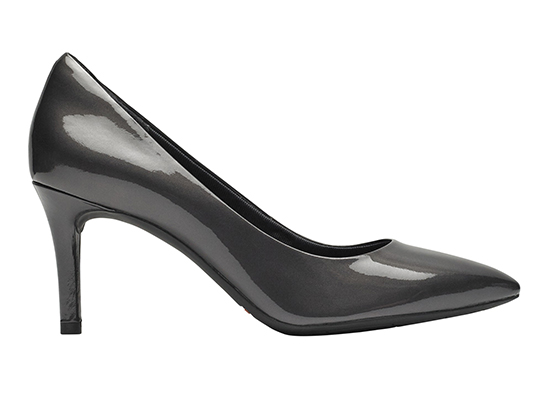TOTAL MOTION 75mm POINTY TOE HEEL PLAIN PUMP 詳細画像 オニキス パール パテント 5