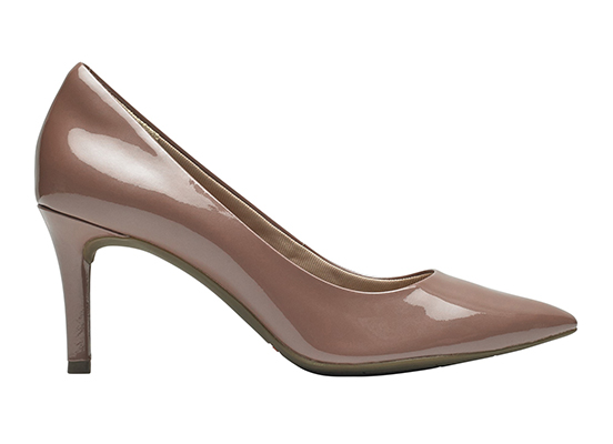 TOTAL MOTION 75mm POINTY TOE HEEL PLAIN PUMP 詳細画像 ペタル パール パテント 5
