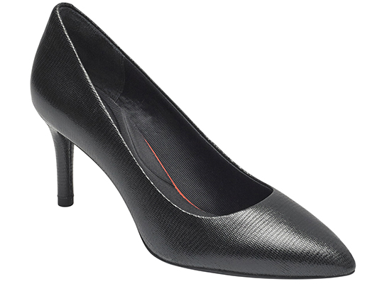 TOTAL MOTION 75mm POINTY TOE HEEL PLAIN PUMP 詳細画像