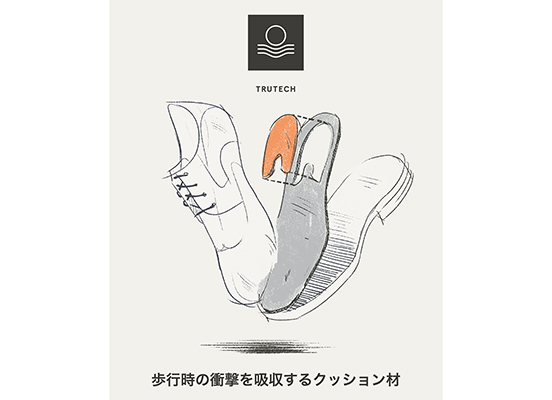 TOTAL MOTION SPORT DRESS WINGTIP 詳細画像 ウィンタースモーク 10