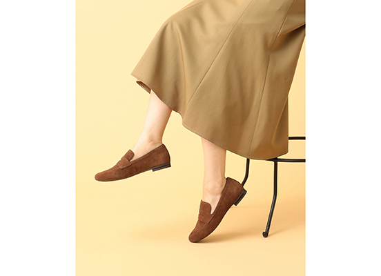 TOTAL MOTION TAVIA PENNY LOAFER 詳細画像 アーモンド 11