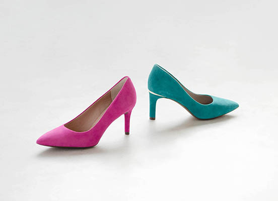 TOTAL MOTION 75mm POINTY TOE HEEL PLAIN PUMP 詳細画像 マゼンタ 6