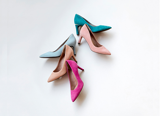 TOTAL MOTION 75mm POINTY TOE HEEL PLAIN PUMP 詳細画像 マゼンタ 7