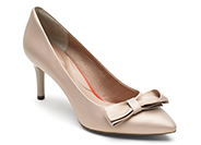 TOTAL MOTION 75mm POINTY TOE HEEL BOW