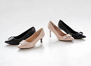 TOTAL MOTION 75mm POINTY TOE HEEL BOW 詳細画像