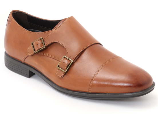 STYLE CONNECTED DOUBLE MONK STRAP