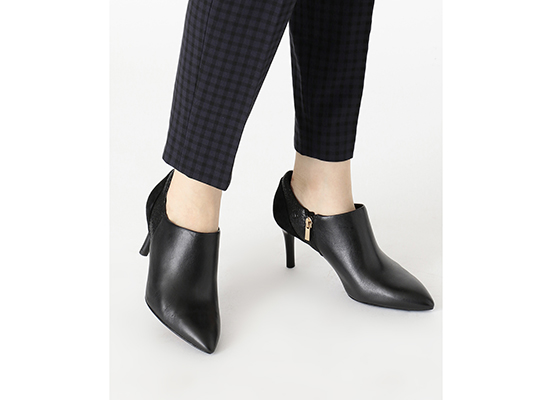 TOTAL MOTION 75mm POINTY TOE HEEL SHOOTIE 詳細画像 ブラック 12