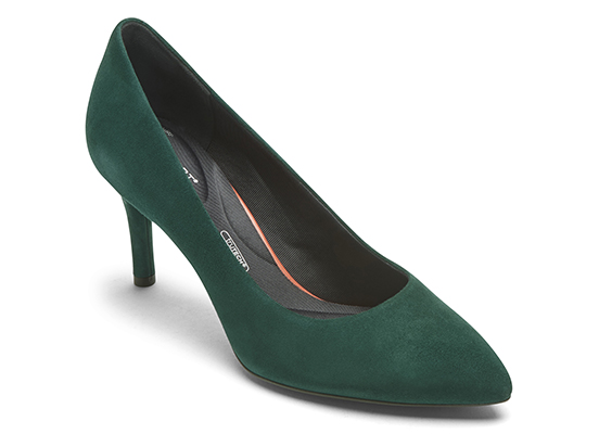 TOTAL MOTION 75mm POINTY TOE HEEL PLAIN PUMP 詳細画像 ディープティール 1