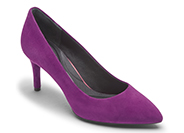 TOTAL MOTION 75mm POINTY TOE HEEL PLAIN PUMP