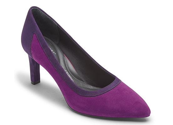 TOTAL MOTION VALERIE PIECED PUMP 詳細画像 パープルパッション 1