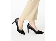 TOTAL MOTION VALERIE PIECED PUMP 詳細画像