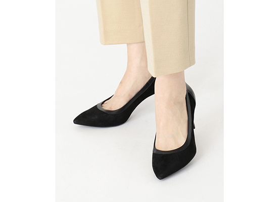 TOTAL MOTION VALERIE PIECED PUMP 詳細画像 ブラック 12