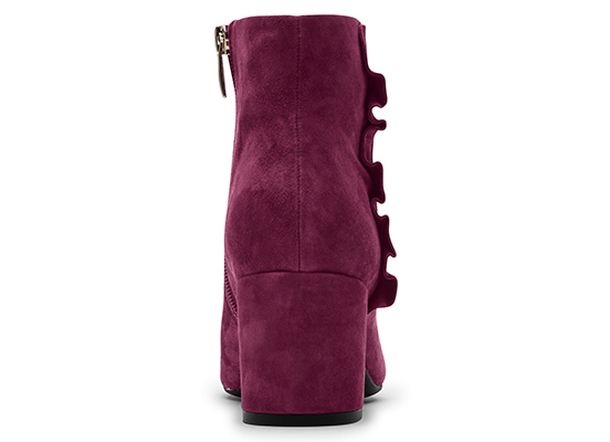 TOTAL MOTION OAKLEE RUFFLE BOOT 詳細画像 ポートワイン 4
