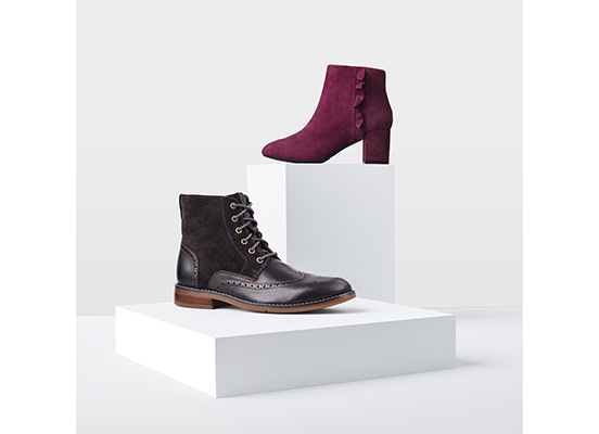 TOTAL MOTION OAKLEE RUFFLE BOOT 詳細画像 ポートワイン 8