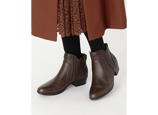 COBB HILL OLIANA CUTOUT BOOT WP 詳細画像 タン 12