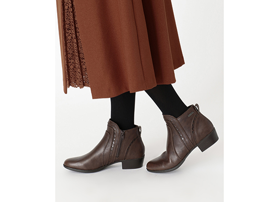 COBB HILL OLIANA CUTOUT BOOT WP 詳細画像 タン 13