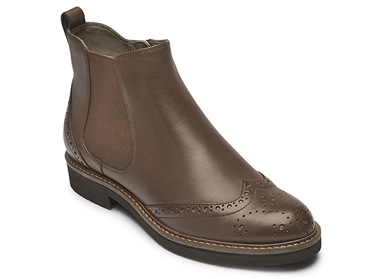 TOTAL MOTION ABELLE WING TIP BOOT 詳細画像 タン 1