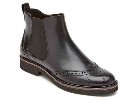 TOTAL MOTION ABELLE WING TIP BOOT