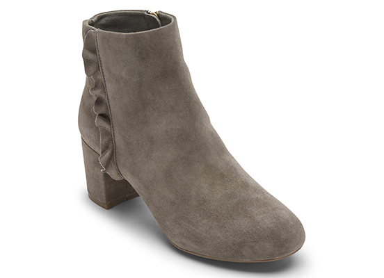 TOTAL MOTION OAKLEE RUFFLE BOOT 詳細画像 トープ スエード 1