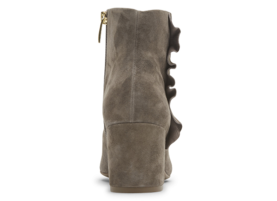 TOTAL MOTION OAKLEE RUFFLE BOOT 詳細画像 トープ スエード 4