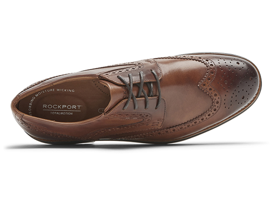 TOTAL MOTION CLASSIC DRESS WINGTIP 詳細画像 コニャック グラス 2
