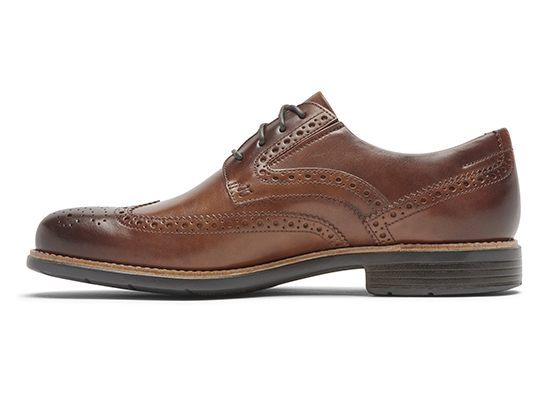 TOTAL MOTION CLASSIC DRESS WINGTIP 詳細画像 コニャック グラス 4