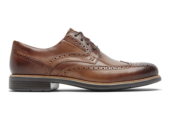 TOTAL MOTION CLASSIC DRESS WINGTIP 詳細画像 コニャック グラス 5