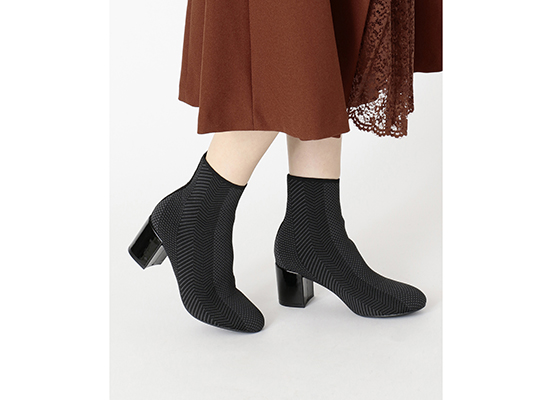 TOTAL MOTION OAKLEE STRETCH BOOT 詳細画像 ブラック メッシュ 12