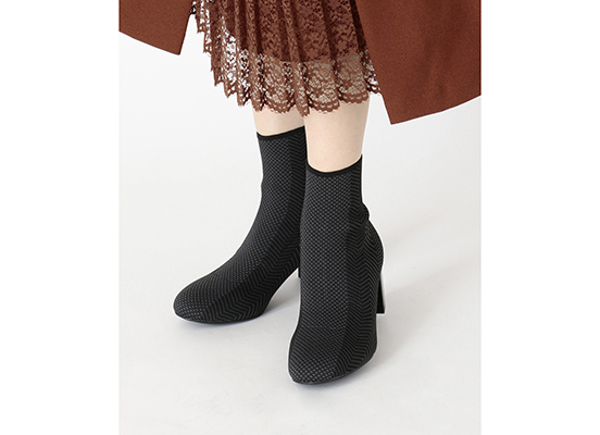 TOTAL MOTION OAKLEE STRETCH BOOT 詳細画像 ブラック メッシュ 13