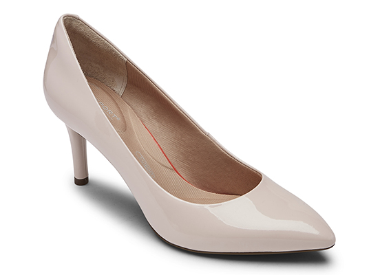 TOTAL MOTION 75mm POINTY TOE HEEL PLAIN PUMP 詳細画像 ローズウォーター パテント 1