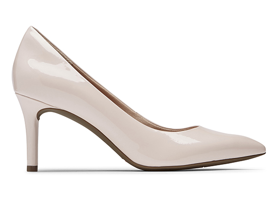 TOTAL MOTION 75mm POINTY TOE HEEL PLAIN PUMP 詳細画像 ローズウォーター パテント 5
