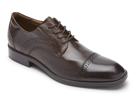 TOTAL MOTION OFFICE CAP TOE 詳細画像 ダークブラウン 1