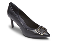 TOTAL MOTION 75MM POINTY TOE HEEL FRONT BUCKLE