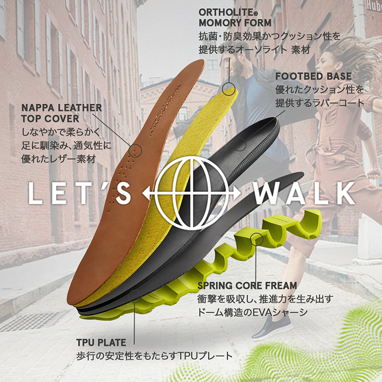 WOMEN'S MEN'S LET'S WALK