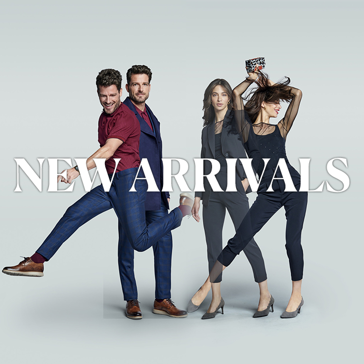 MEN'S WOMEN'S new arrivals